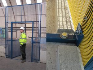 Compound entrance & security gates and fencing systems