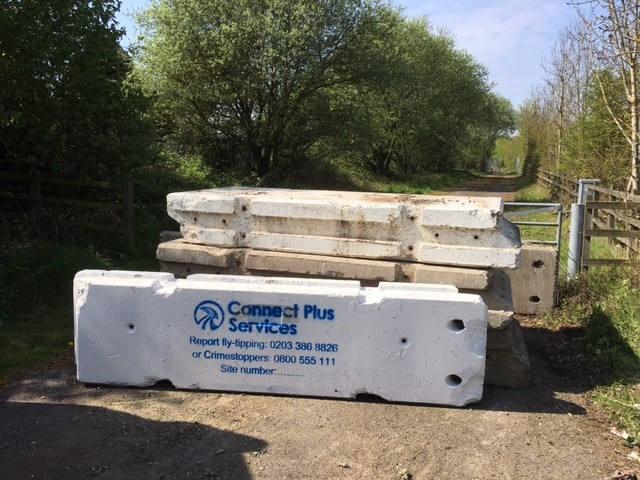 Connect Plus Services Maltaward Concrete Barrier