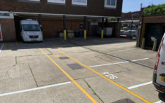 Horsham Fire Station - Line Painting 2