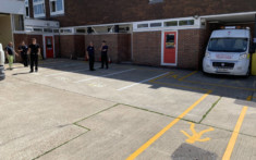 Horsham Fire Station - Line Painting 3