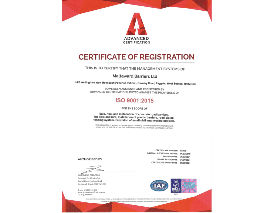 ISO 9001:2015 accreditation featured image