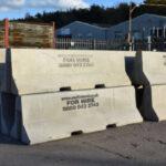 Interlocking Jersey Barriers