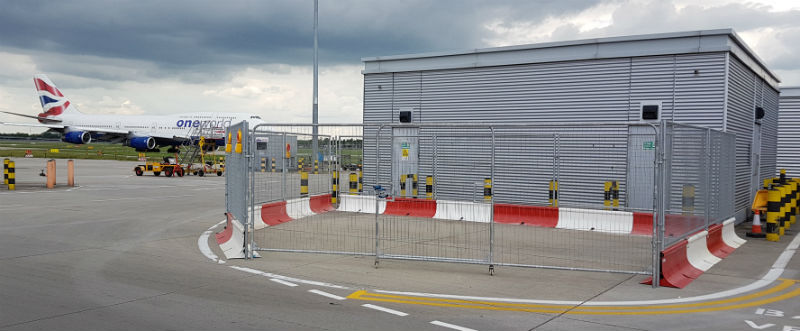 MASS Safety Barriers - Heathrow