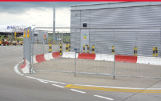 MASS Safety Barriers set up and installed by Maltaward