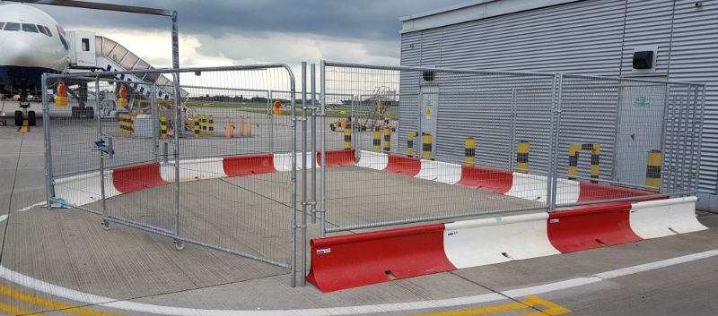 MASS Safety Barriers - Airside