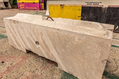 Malta Security Concrete Blocks
