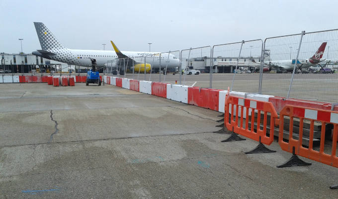 Maltaward Airside Fencing at Heathrow