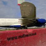 Maltaward Concrete Barrier Airside at Heathrow