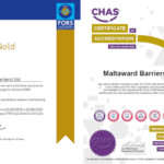 Maltaward FORS Gold and CHAS certificates image