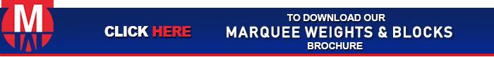 Marquee Weights & Blocks