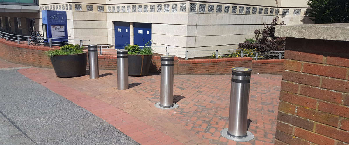 Metal Bollards Hero Image