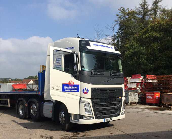 New Volvo FH500 Artic Lorry