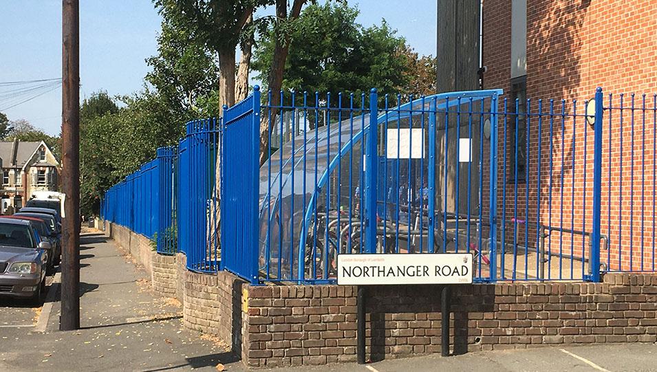 School Rail Fence