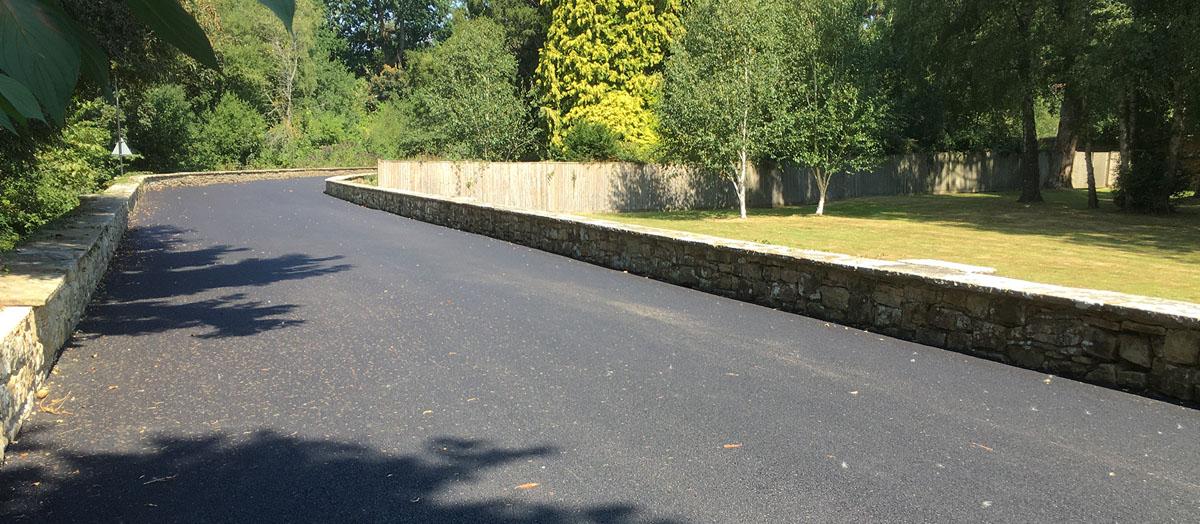 Schools road resurfacing