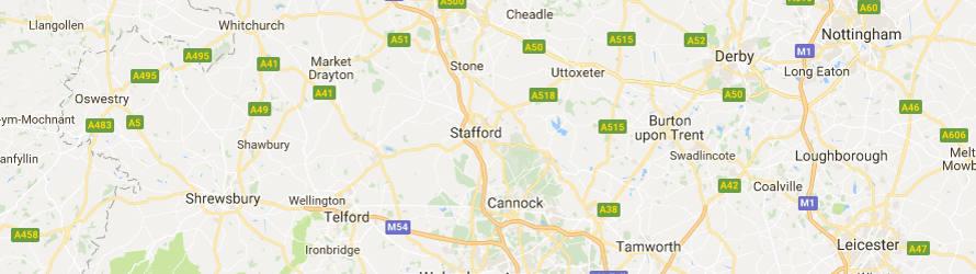 Concrete barrier hire Staffordshire