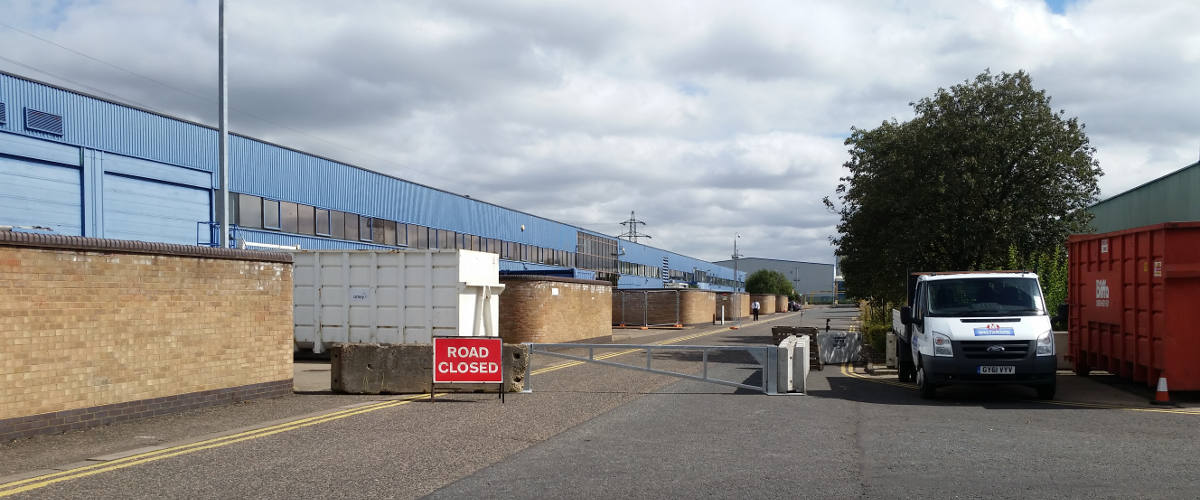 Vacant Property Protection - Barriers and Signs