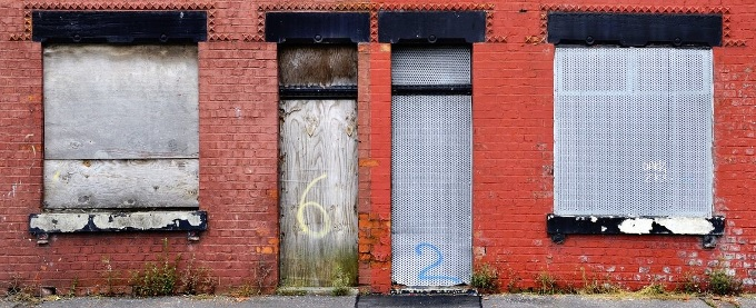 Vacant Property Protection - Boarded up Buildings