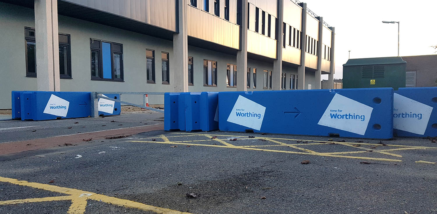 Worthing Concrete Barriers