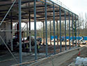 Warehouse extension in Horsham - civil engineering