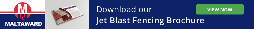 CTA Download our Jet Blast Fencing Brochure