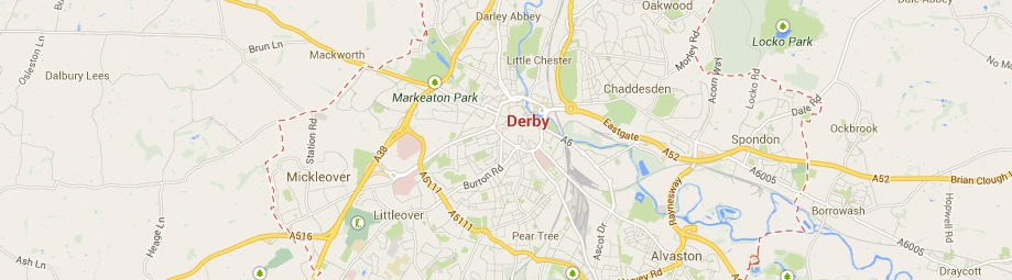 Derby concrete barriers Derby