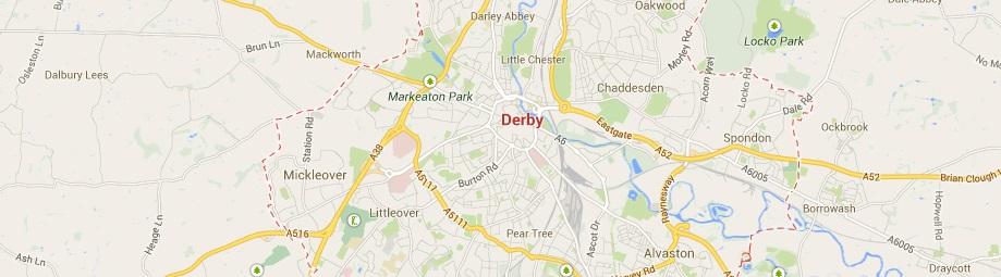 Derby concrete barriers Derby