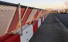 jet blast fencing