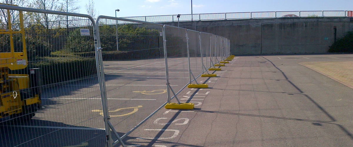 temporary security fencing